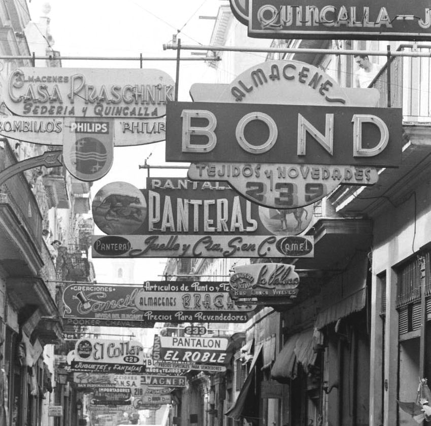 Calle-Bernaza-en-1959