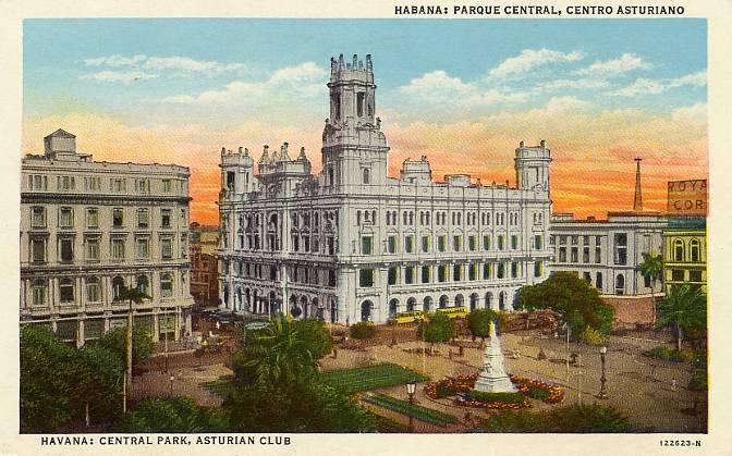 Centro Asturiano en la Habana