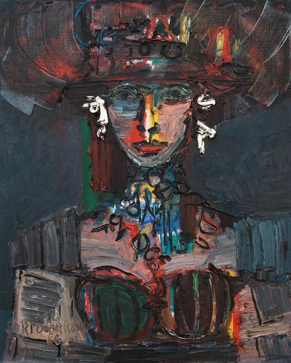 Rene-Portocarrero-Retrato-Flora-1966
