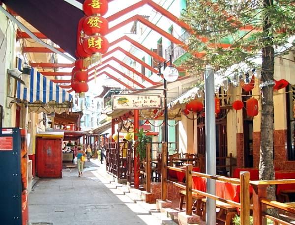 barrio chino comida