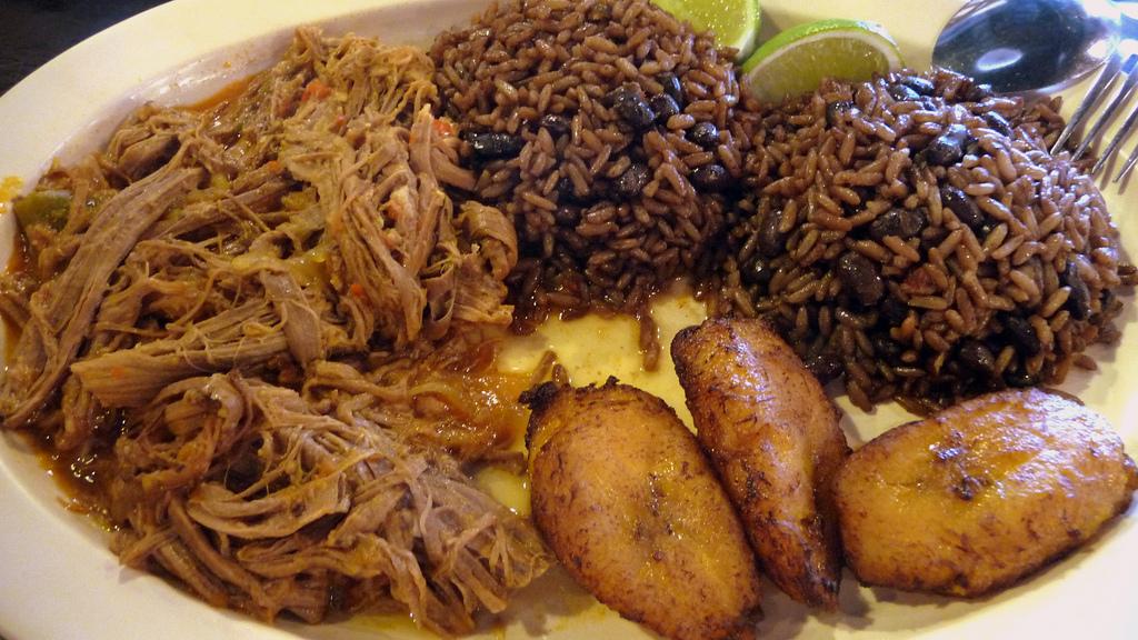Comida Cubana Menu