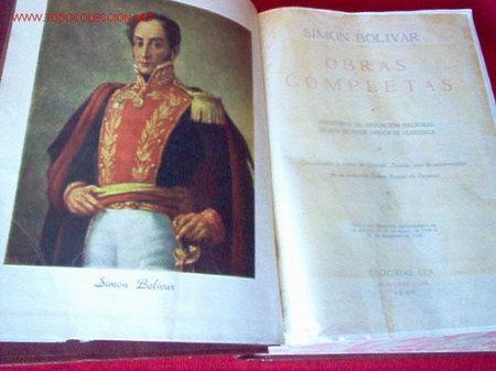 libros bolivar