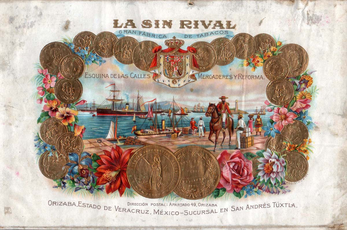 tabaco La_Sin_Rival_Litografia