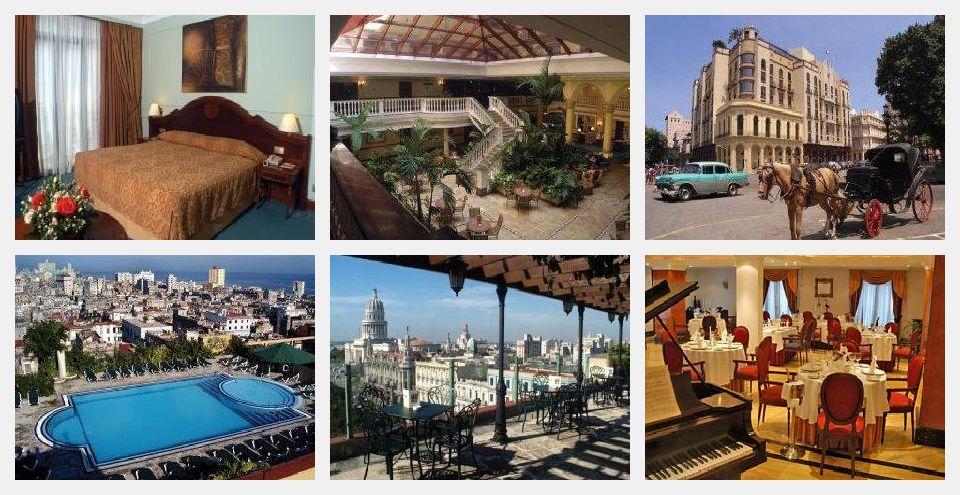hotel parque central vistas