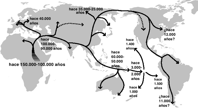 Migración_humana_fuera_de_África_mapa_ADN_genético