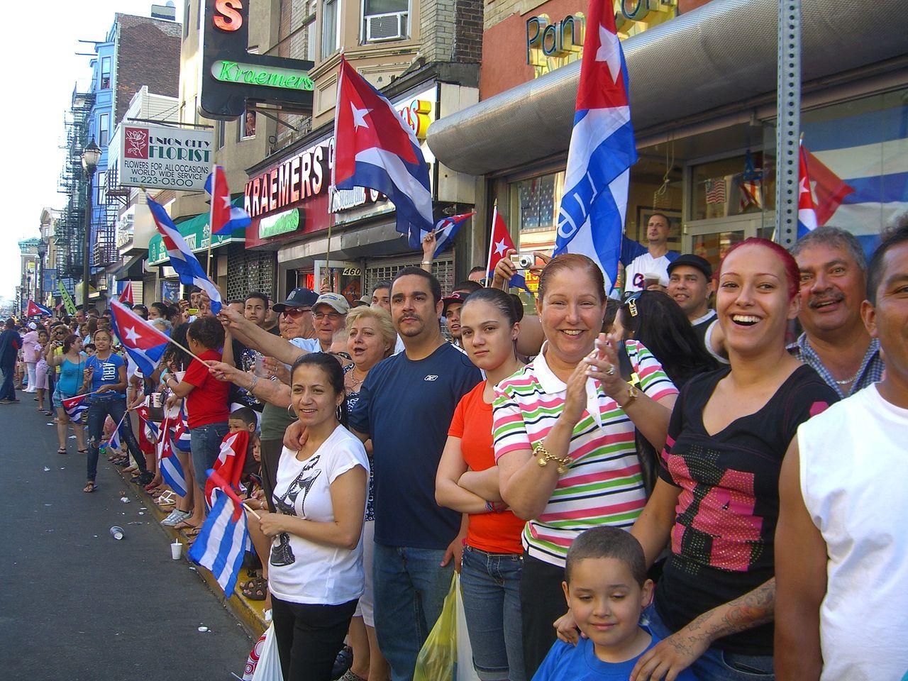 migracion cubanos en njersey