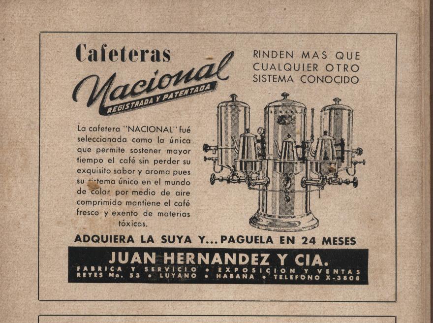Cafeteras Nacionales