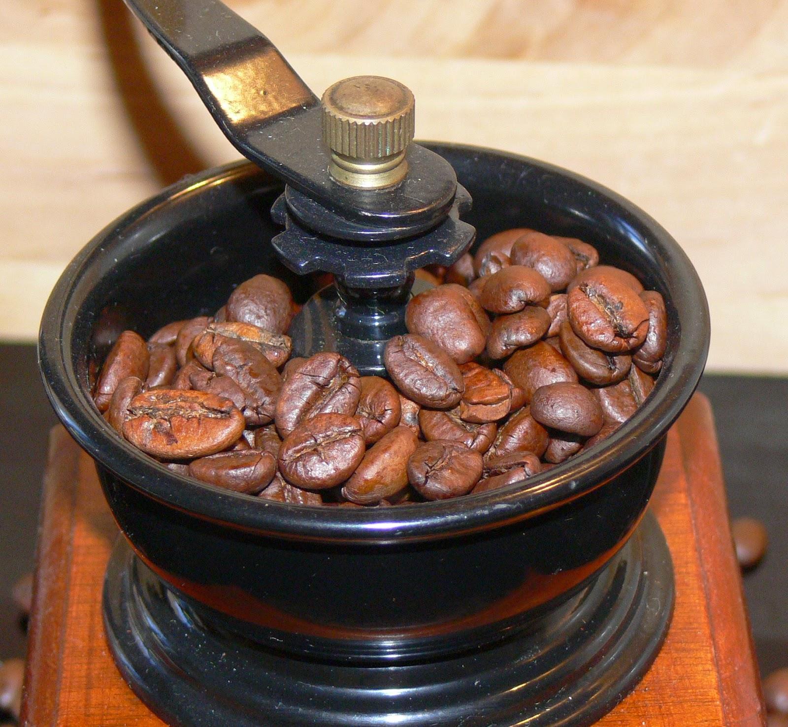cafe moler grano cafe