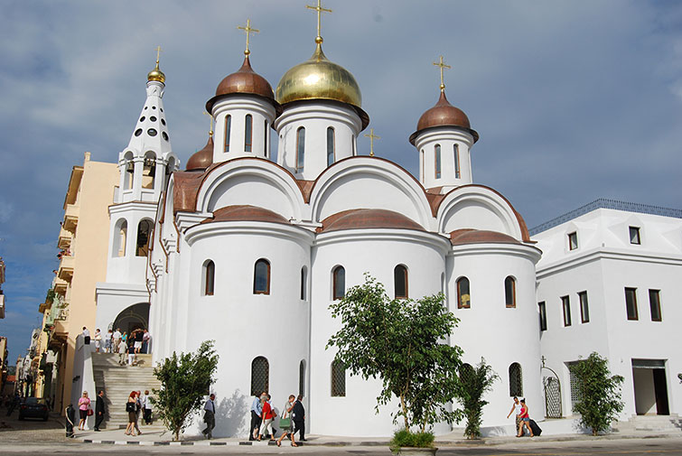 rusos Catedral Ortodoxa Rusa Nuestra Señora de Kazán