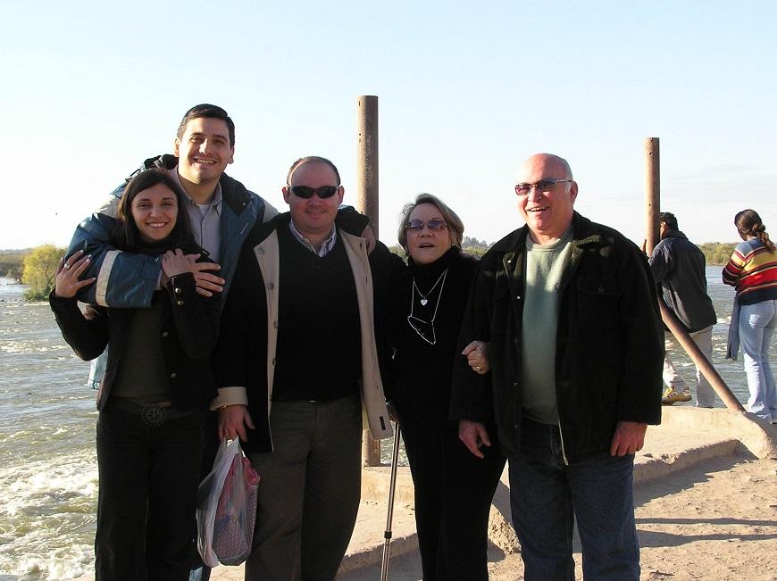 argentina en las termas familia