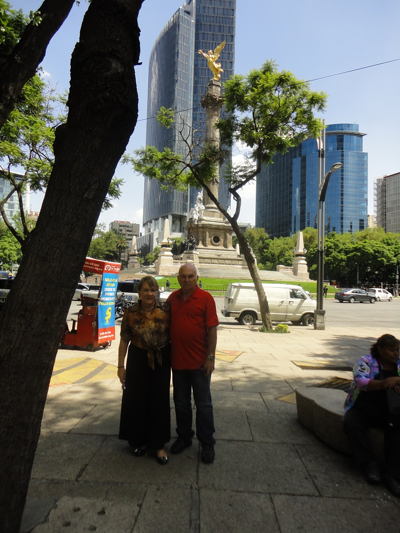 mexico monumento angel independencia