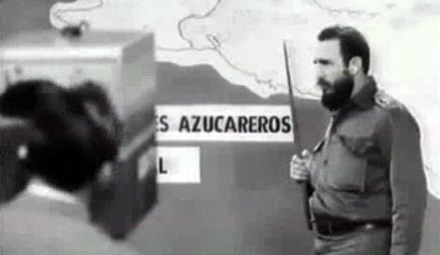 Castro-dando-uno-de-sus-interminables-teques-sobre-los-10-Millones-en-la-tv-cuban