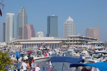 Downtown_Tampa_and_Convention_Center_During_Gasparilla_Pirate_Fest_2003