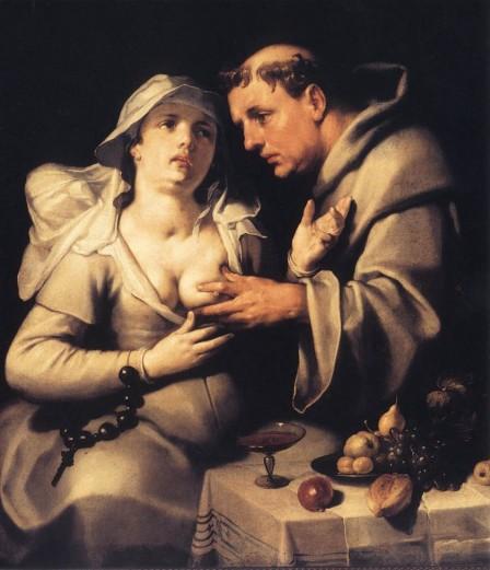 Cornelis-van-Haarlem-el-monje-y-la-monja