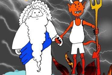 contradiccion biblica David dios satanas censo ateismo cristianismo Satan jesus biblia religion