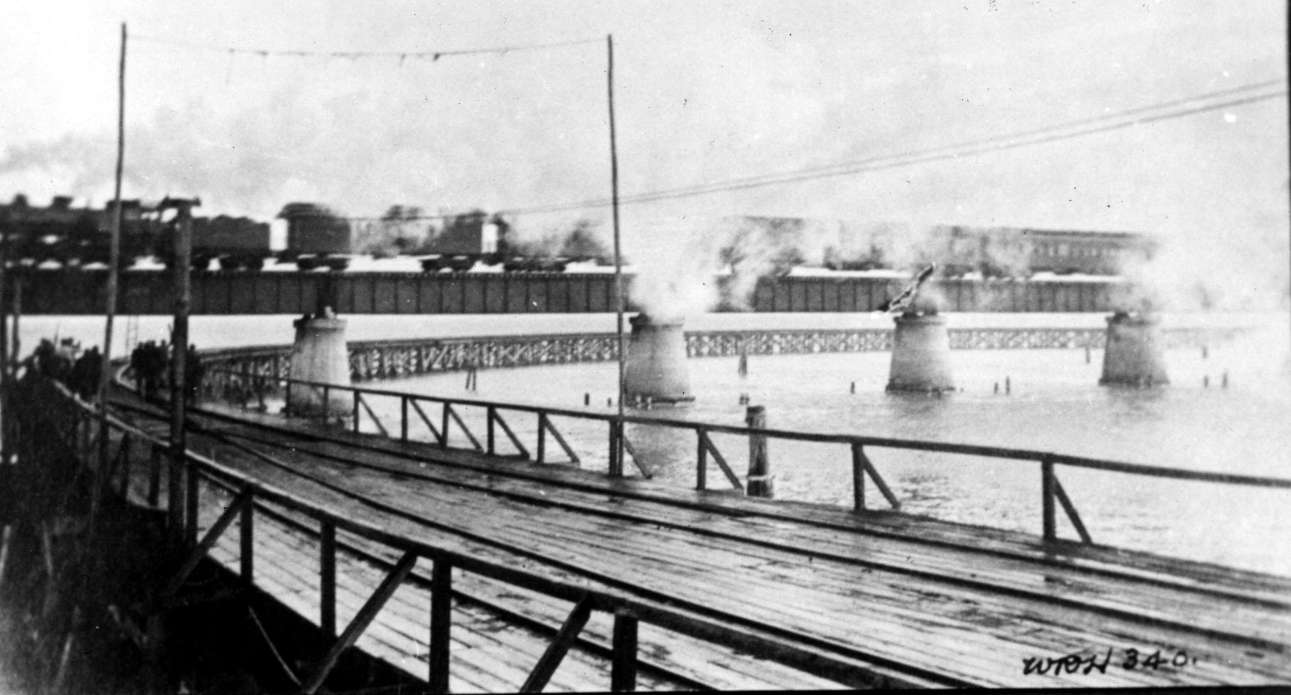 Resultado de imagen para tren entre Miami y Cayo Hueso, en 1915,